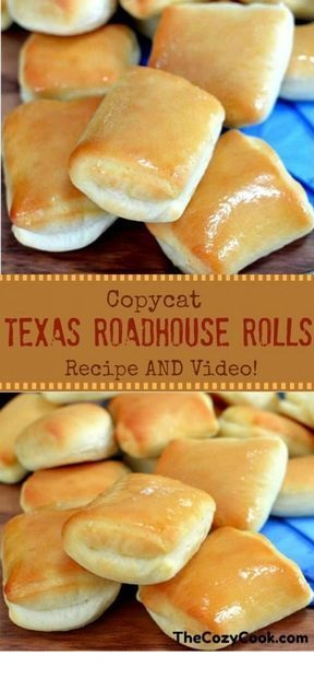 Copycat Texas Roadhouse Rolls