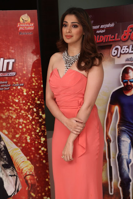 Lakshmi Rai Stills at Motta Shiva Ketta Shiva Audio Launch