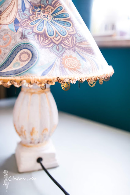 lampka nocna, diy, orientalny styl, design