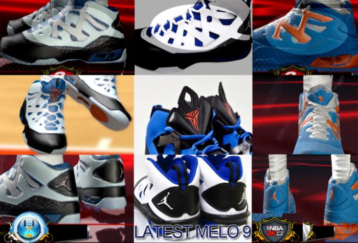 7f7ef2a7001e NBA 2K13 Jordan Melo M9 Shoes Patch - NBA2K.ORG