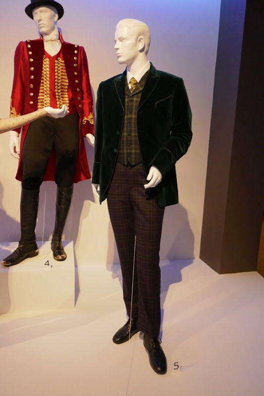 Greatest Showman Phillip Carlyle costume