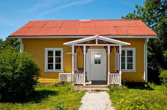 combinaciones de amarillo para pintar la fachada de la casa