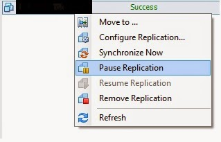 VMNgo: Resizing a VMDK that is being replicated by vSphere