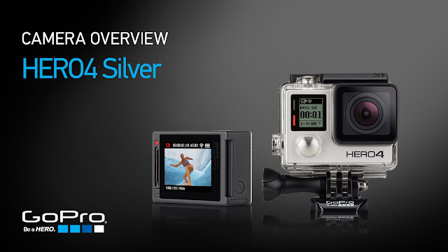 Queridinha de aventureiros e amantes de selfies, a GoPro versão Hero 4 Silver é a primeira com tela touchscreen, para enquadrar ou ver fotos e vídeos feitos.