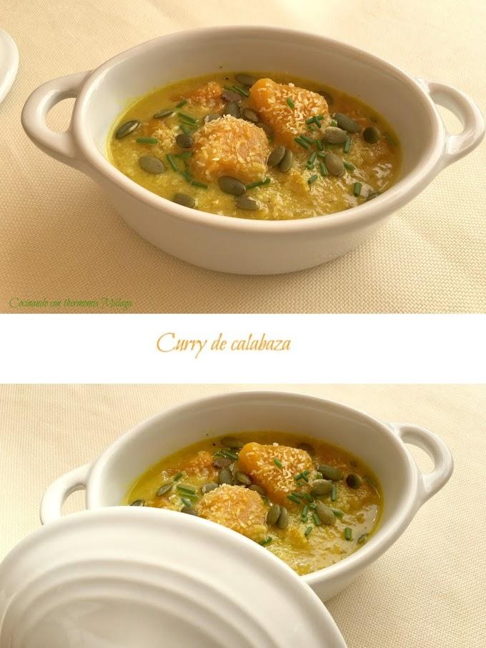 Curry de calabaza