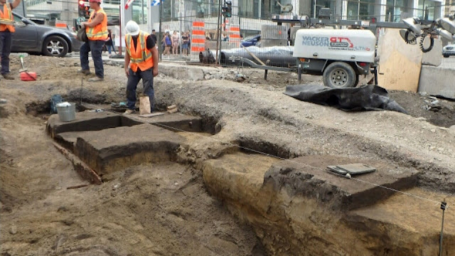 Iroquois artefacts uncovered in downtown Montreal date back to 14th century
