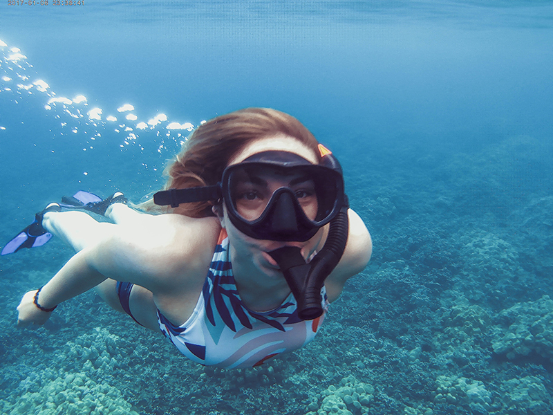 where to snorkel in hawaii, hawaiian ocean sports, ocean sports