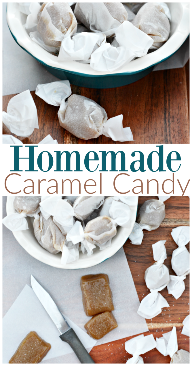 The Life of Jennifer Dawn: Caramel Candy Recipe