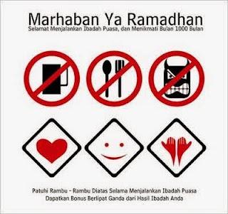 Tulisan Arab Doa atau Bacaan Niat Puasa di Bulan Ramadhan