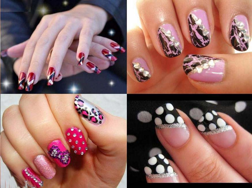 Most Recent Nail Art Designs And Colors For Eid 2016 Nazje Blog