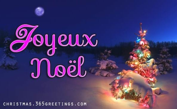 Merry Christmas in French language