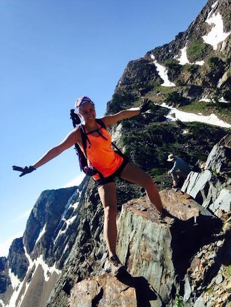 Twin Peaks via Robinson's Variation, Broad's Fork trail, Utah