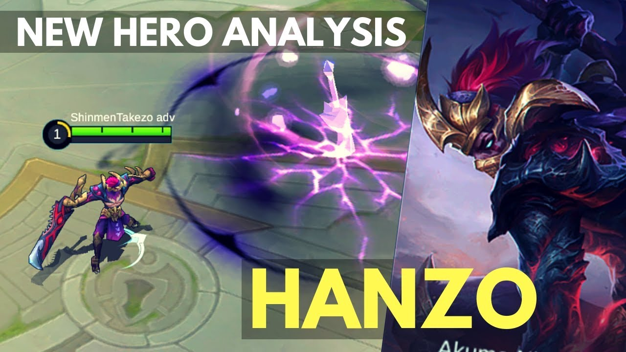 Build Item Hanzo Mobile Legends