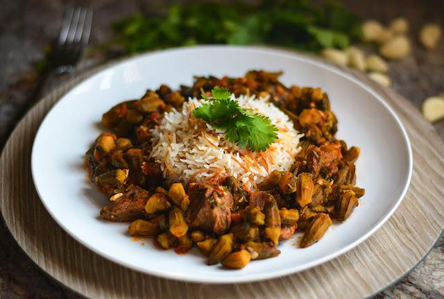 Okra Stew (Yakhmit Bamieh)