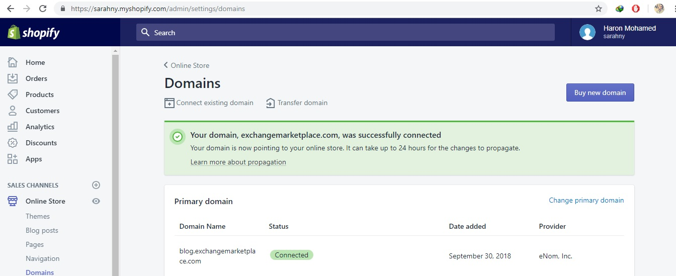 Subdomain Takeover via Shopify Vendor ( blog