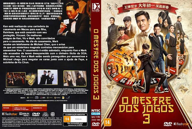 Capa DVD O Mestre dos Jogos 3 [Custom]