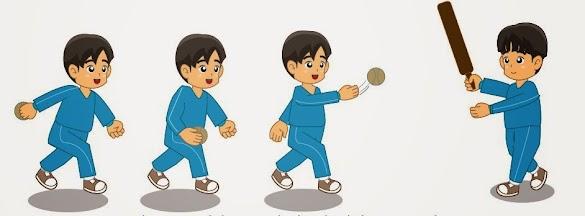 Teknik Cara Melambungkan Bola Pada Permainan Bola Kasti