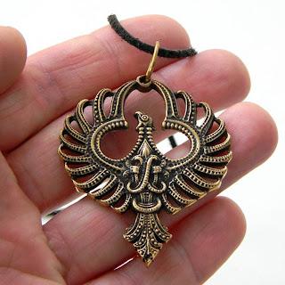 кулон феникс купить подвеску феникс бронзовые ювелирные изделия