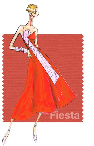PANTONE 17-1564 Fiesta
