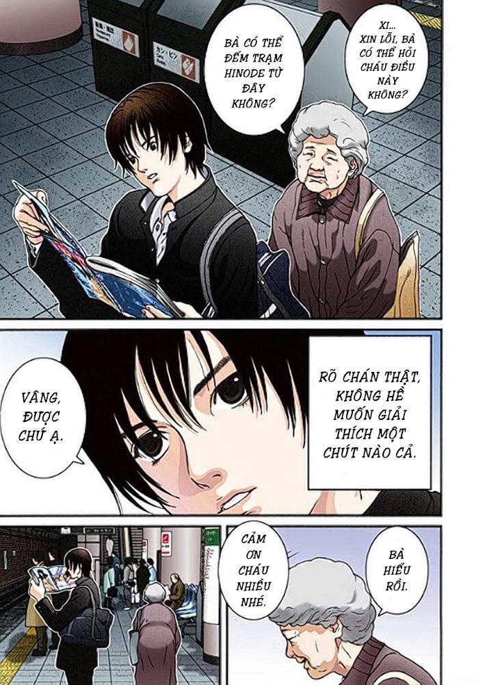 Gantz Chap 01: Tai nạn trang 8