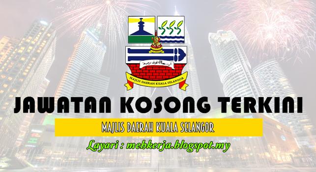 Jawatan Kosong Terkini 2016 di Majlis Daerah Kuala Selangor