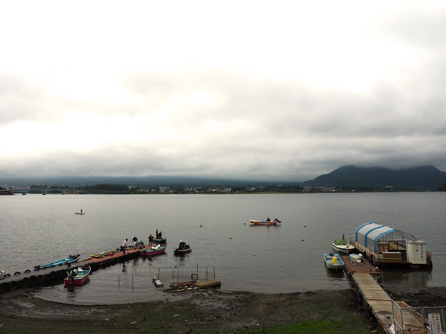 Mount Fuji, Lake Kawaguchiko, Fuji Five Lakes, Japan