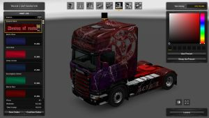 Demon of Road Skin for Scania RJL