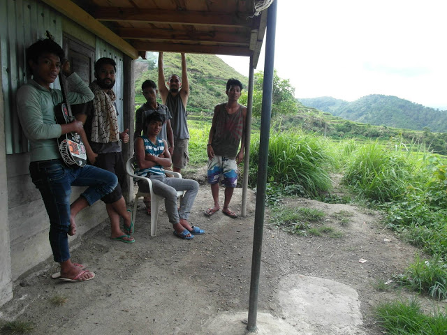 The locals of Buscalan loves music