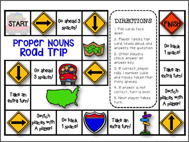 Proper Nouns Printables This Grammar Kit is packed with resources! You will find everything you need to engage and delight your students as they learn/review proper nouns.  These engaging activities will help you guide your students through an Instructional Sequence (based on 'best practices') that will maximize their mastery of the standard and have lots of fun in the process!