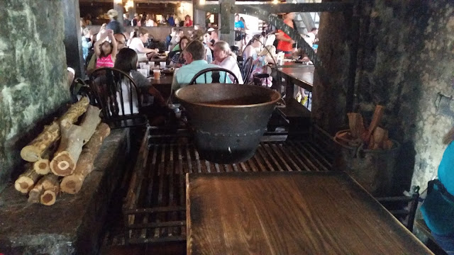 inside the Three Broomsticks