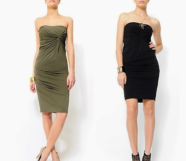 платье из трикотажной ткани
