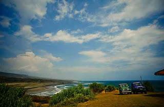 Panorama Pantai Cijeruk Indah