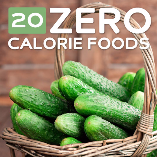 20 Zero Calorie Foods to Help You Slim Down