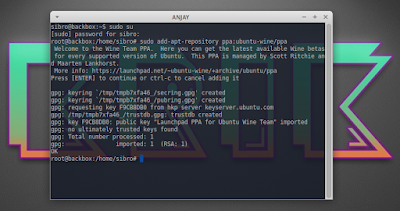 sudo add-apt-repository ppa:ubuntu-wine/ppa