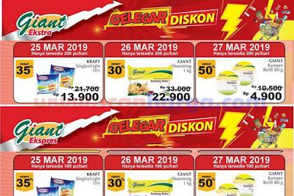 Katalog Promo Giant Weekday Terbaru 25 - 27 Maret 2019