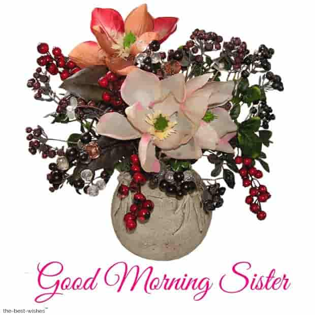 good morning younger sister
