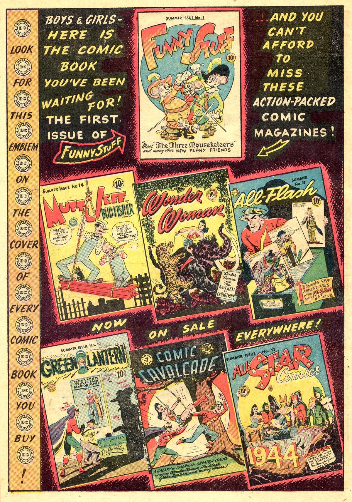 Read online All-American Comics (1939) comic -  Issue #60 - 36