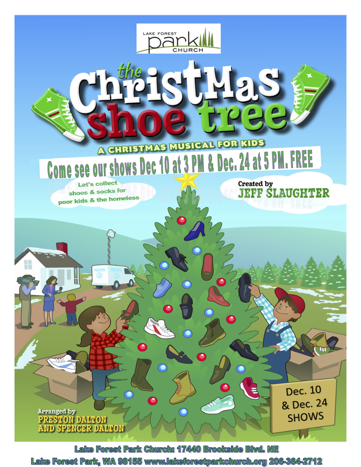 The Christmas Shoe Tree