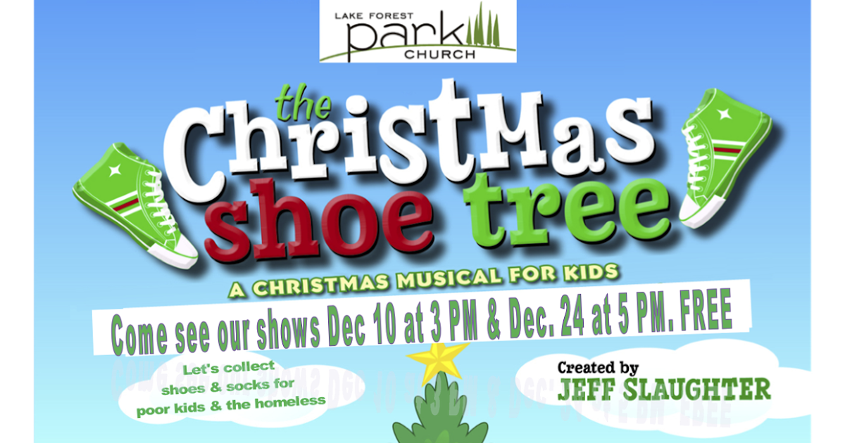 Christmas Shoe Tree.Shoreline Area News The Christmas Shoe Tree Musical Dec 10