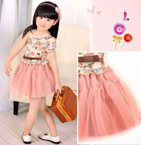 model baju batik anak korea