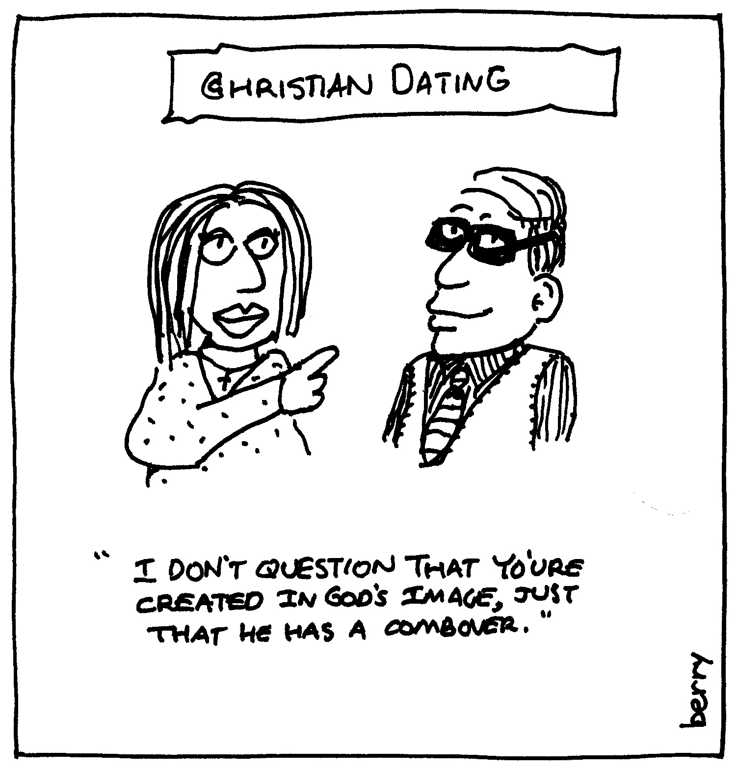 Cartoons about christian dating