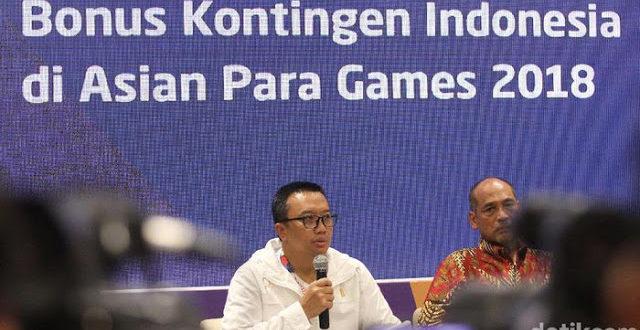 Rame Soal Rp 675 Juta Jadi Rp 137,5 Juta Kemenpora di Bonus Asian Para Games! SALAH KETIK!