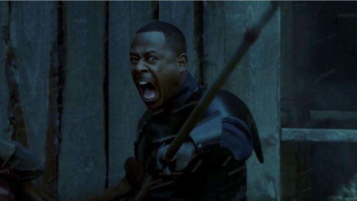 сериал, Игра престолов, Game of Thrones, Мартин Лоуренс, Чёрный рыцарь, Black Knight