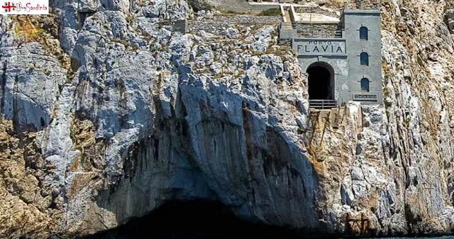 foto miniera di Porto Flavia con buySardinia