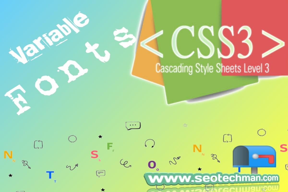 Cara Membuat Font Variabel Dengan Efek Kontrol Menggunakan Javascript Dan Css