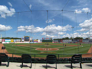 Home to center, Bethpage Ballpark