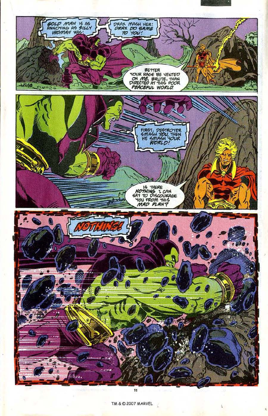 Read online Silver Surfer (1987) comic -  Issue #47 - 13