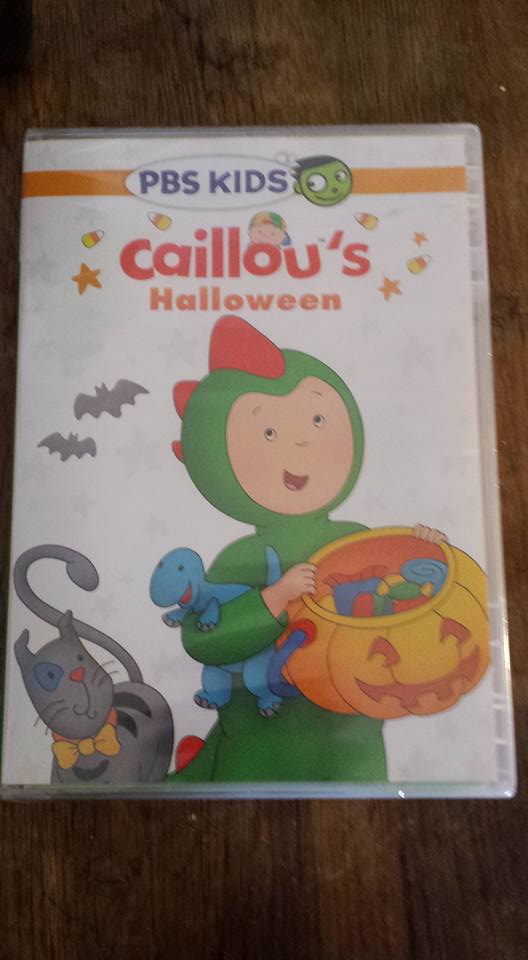 Pbs Kids Halloween Dvd.Caillou S Halloween On Dvd Chitchatmom