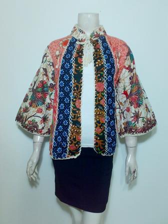 Contoh Batik Bolero Yang Terbaru Dan Elegan