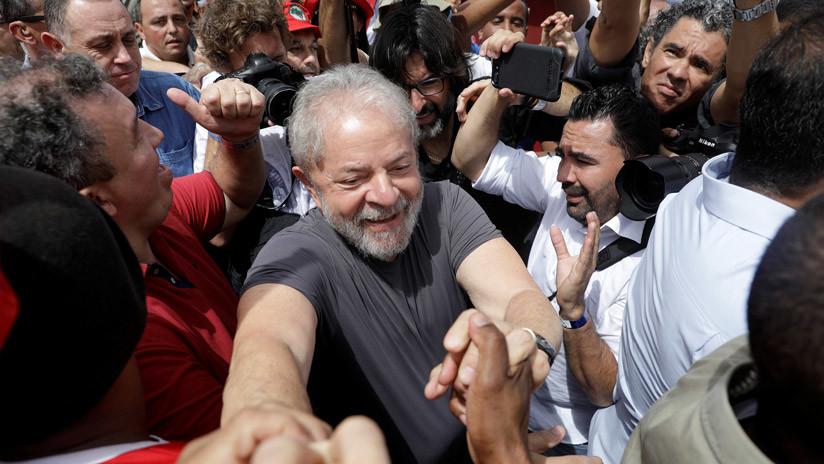 Justicia de #Brasil anula de forma unánime, denuncia contra Lula da Silva por corrupción